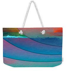 Parallel Dimensions - Submerged Weekender Tote Bag by Serge Averbukh