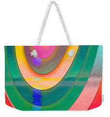 Parallel Dimensions - The Descent Weekender Tote Bag by Serge Averbukh