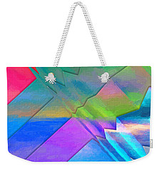 Parallel Dimensions - The Multiverse Weekender Tote Bag by Serge Averbukh