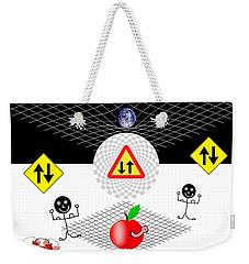 Parallel Worlds Weekender Tote Bag