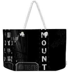 Paramount Marquee Bristol Tennessee Weekender Tote Bag
