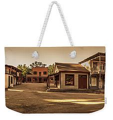 Paramount Ranch Main Street - Panorama Weekender Tote Bag