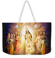 Parashakti Devi/ The Great Mother Goddess In Space Weekender Tote Bag