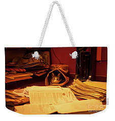 Parcel Cat Weekender Tote Bag