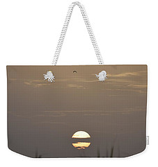 Weekender Tote Bag featuring the photograph Pardon Me   Just Passing Through by John Glass