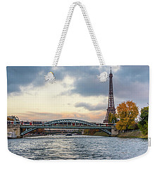 Paris 3 Weekender Tote Bag