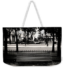 Paris Bench Weekender Tote Bag