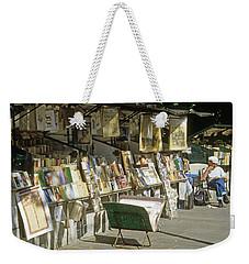 Paris Bookseller Stall Weekender Tote Bag
