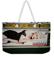 Paris Bus Weekender Tote Bag