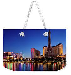 Paris Casino At Dawn 2 To 1 Ratio Weekender Tote Bag