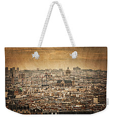 Paris Skyline Weekender Tote Bag