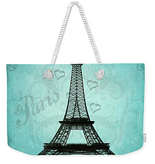 Paris Collage Weekender Tote Bag by Jim and Emily Bush