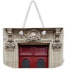 Paris Doors No. 17 - Paris, France Weekender Tote Bag