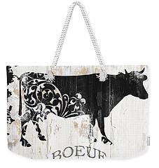 Paris Farm Sign Cow Weekender Tote Bag