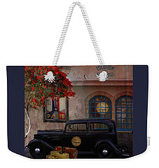 Weekender Tote Bag featuring the digital art Paris In Spring by Jeff Burgess