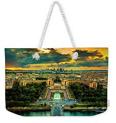 Paris Landscape Weekender Tote Bag