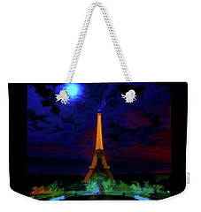 Paris Lights Weekender Tote Bag