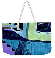 Weekender Tote Bag featuring the painting Paris Memories  By Bill O'connor by Bill OConnor