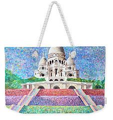 Paris Monument Weekender Tote Bag