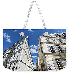 Weekender Tote Bag featuring the photograph Paris Photography - Quai D-orleans by Melanie Alexandra Price
