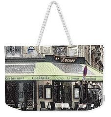Paris - Restaurant Weekender Tote Bag