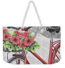 Paris Ride 2 Weekender Tote Bag by Debbie DeWitt