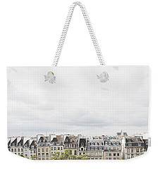 Paris Rooftops View From Centre Pompidou Weekender Tote Bag