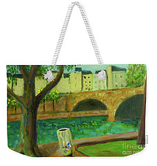 Paris Rubbish Weekender Tote Bag