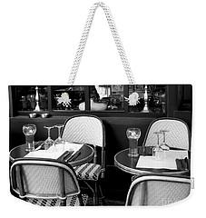 Paris Street Side Cafe Weekender Tote Bag