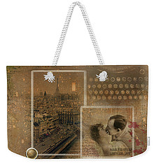 Paris, The City Of Lights And Love Weekender Tote Bag
