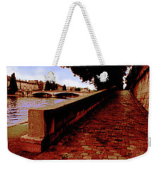 Paris - View Of The Seine Weekender Tote Bag