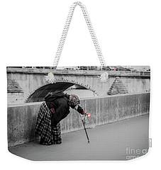 Parisian Beggar Lady Weekender Tote Bag