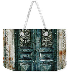 Parisian Door No. 24 Weekender Tote Bag