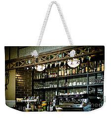 Parisian Espresso Weekender Tote Bag