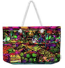 Parisian Market Weekender Tote Bag