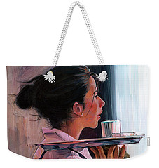 Parisian Waitress Weekender Tote Bag