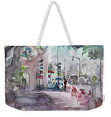Park Avenue 2 Weekender Tote Bag by Becky Kim