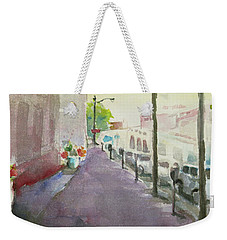Park Avenue 3 Weekender Tote Bag by Becky Kim