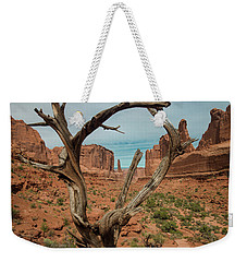 Weekender Tote Bag featuring the photograph Park Avenue by Gary Lengyel
