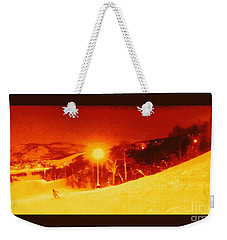 Park City Gold Weekender Tote Bag by Richard W Linford