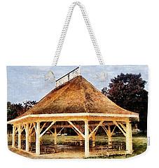 Park Gazebo Weekender Tote Bag