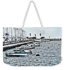 Parked And Waiting Weekender Tote Bag