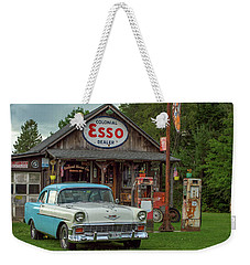 Parked At Ferland Motor Company Weekender Tote Bag