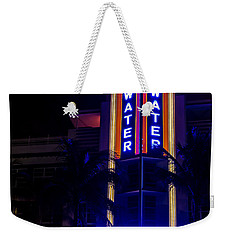 Weekender Tote Bag featuring the photograph Parked At The Breakwater by Melinda Ledsome