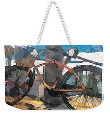 Parked At The Wharf Weekender Tote Bag