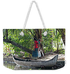 Parking Spot Weekender Tote Bag by Marion Galt