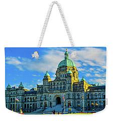 Parliament Victoria Bc Weekender Tote Bag