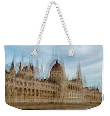 Weekender Tote Bag featuring the photograph Parliamentary Procedure by Alex Lapidus