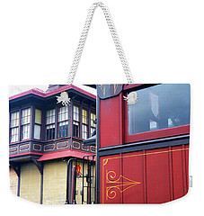 Parlor Car Weekender Tote Bag by Paul W Faust - Impressions of Light