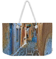 Paros Beauty Island Greece  Weekender Tote Bag by Colette V Hera Guggenheim